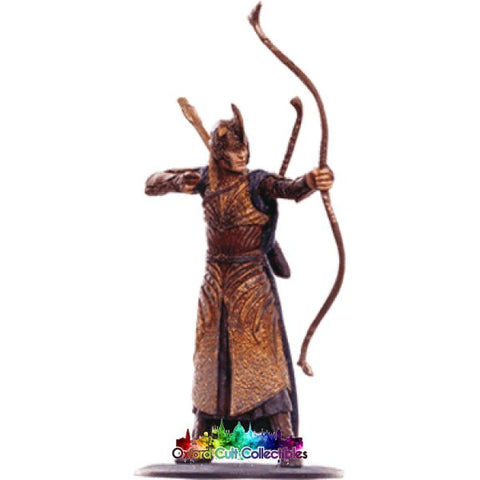 Lord Of The Rings Collectors Model Number 76: Galadhrim Archer At Helms Deep Hand Painted Figurine Hand