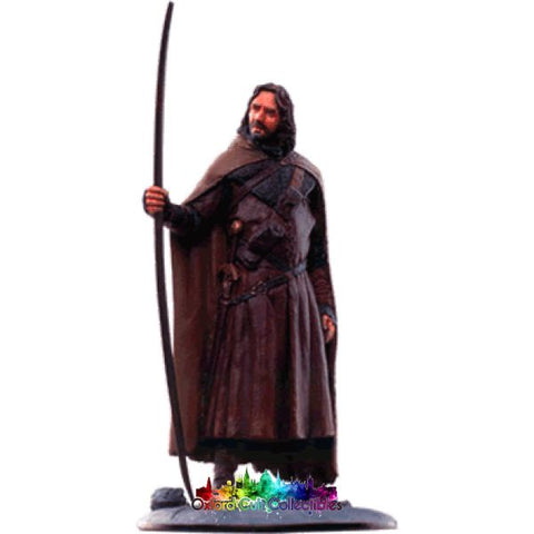 Lord Of The Rings Collectors Model Number 78: Aragorn At Dunharrow Hand Painted Figurine Hand