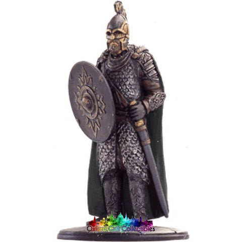 Lord Of The Rings Collectors Model Number 8: Rohan Soldier At Battle Helms Deep Hand Painted Figurine Hand