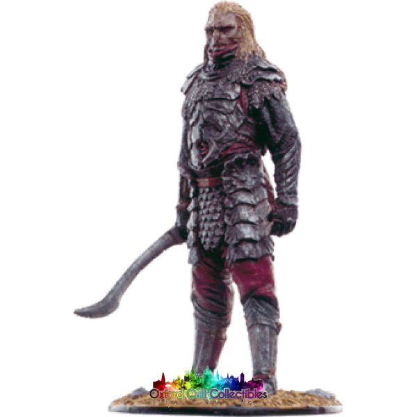 Lord Of The Rings Collectors Model Number 81: Mordor Orc At Pelennor Fields Hand Painted Figurine Hand