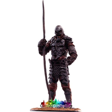 Lord Of The Rings Collectors Model Number 83: Orc Raider At Pelennor Fields Hand Painted Figurine Hand