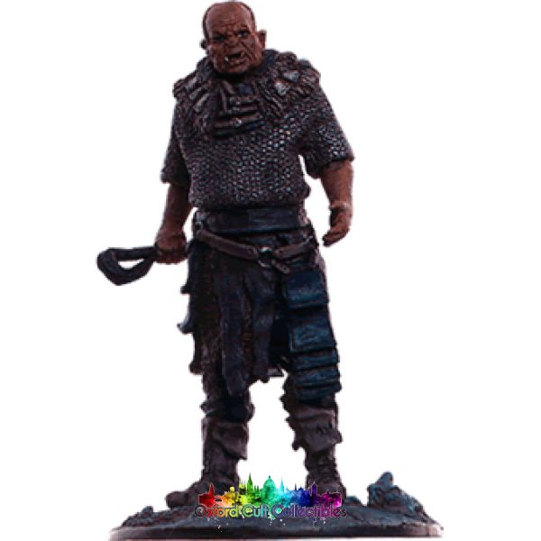 Lord Of The Rings Collectors Model Number 85: Orc Brute At Tower Orthanc Hand Painted Figurine Hand