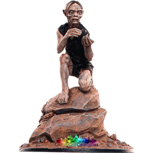 Lord Of The Rings Collectors Model Number 95: Gollum In Caves Misty Mountains Hand Painted Figurine Hand