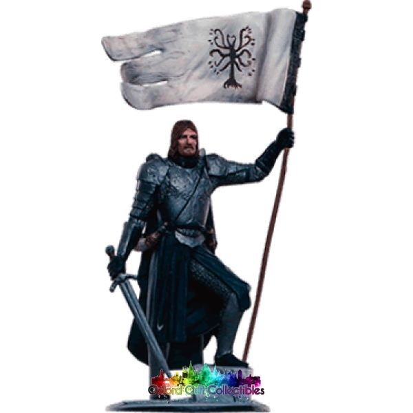 Lord Of The Rings Collectors Model Number 96: Boromir At Osgiliath Hand Painted Figurine Hand