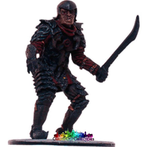 Lord Of The Rings Collectors Model Number 97: Siege Tower Orc At Minas Tirith Hand Painted Figurine Hand