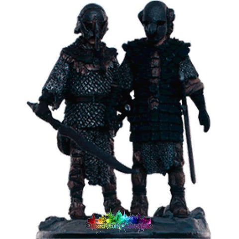 Lord Of The Rings Collectors Model Number 98: Frodo And Sam In Mordor Hand Painted Figurine Hand