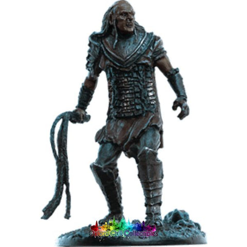 Lord Of The Rings Collectors Model Orc Commander In Gorgoroth Foothills 169 Hand Painted Figurine Hand