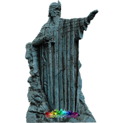Lord Of The Rings Collectors Models The Argonath Part 2 Elendil On River Anduin 126 Hand Painted Figurine Hand