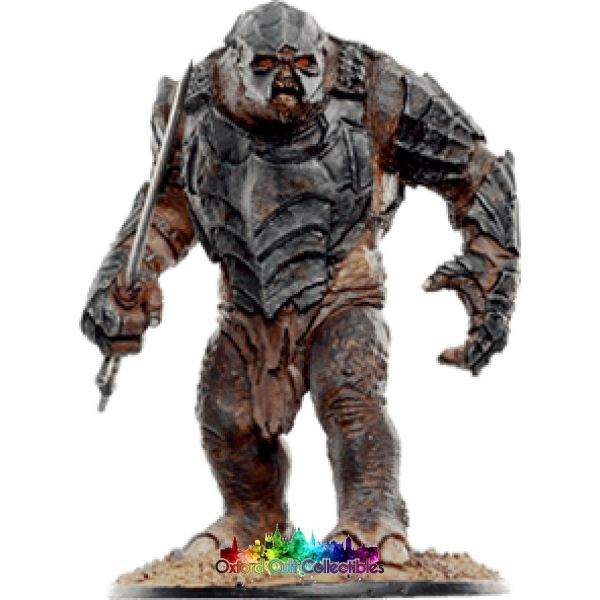 Lord Of The Rings Collectors Models Armoured Troll At Black Gate Mordor 119 Hand Painted Figurine Hand