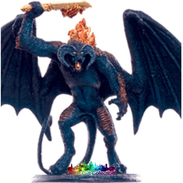 Lord Of The Rings Collectors Models The Balrog At Bridge Khazad-Dum 113 Hand Painted Figurine Hand