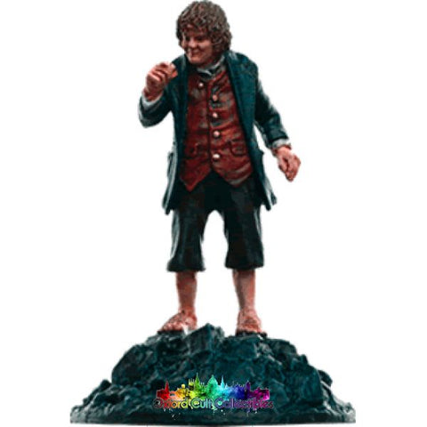 Lord Of The Rings Collectors Models Bilbo At Misty Mountains 155 Hand Painted Figurine Hand