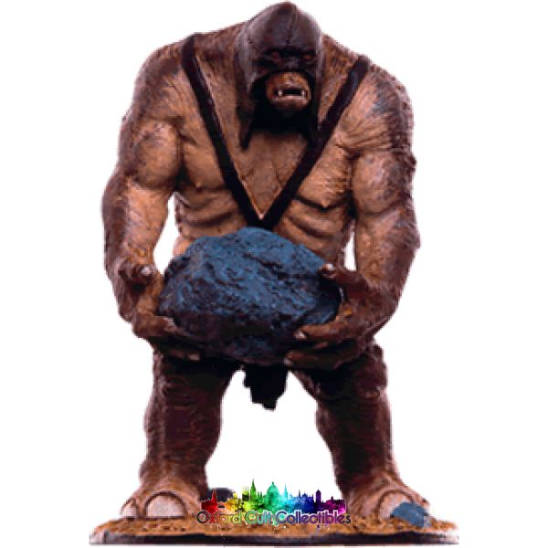 Lord Of The Rings Collectors Models Catapult Troll At Pelennor Fields 116 Hand Painted Figurine Hand
