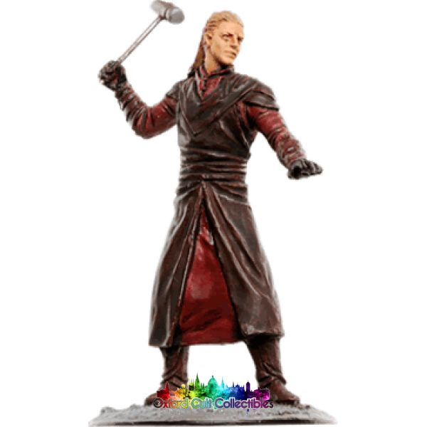 Lord Of The Rings Collectors Models Elven Blacksmith At Rivendell 140 Hand Painted Figurine Hand