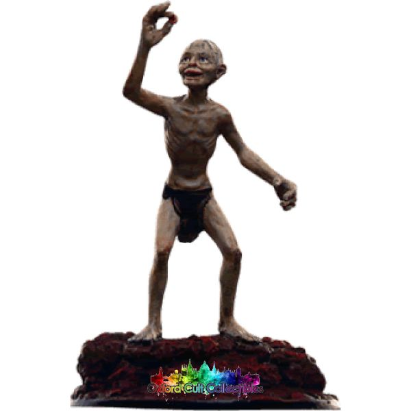 Lord Of The Rings Collectors Models Gollum At Mount Doom 103 Hand Painted Figurine Hand