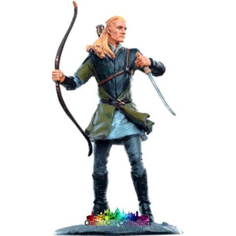 Lord Of The Rings Collectors Models Legolas At Lothlorien 144 Hand Painted Figurine Hand
