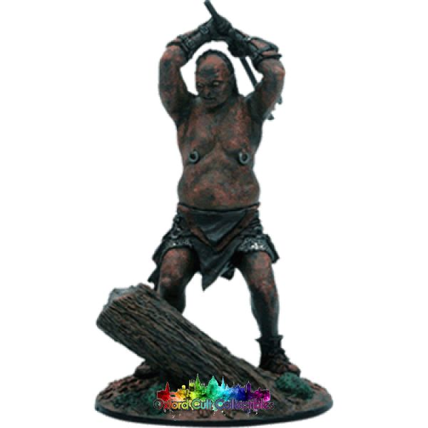 Lord Of The Rings Collectors Models Orc Axeman In Fangorn Forest 122 Hand Painted Figurine Hand
