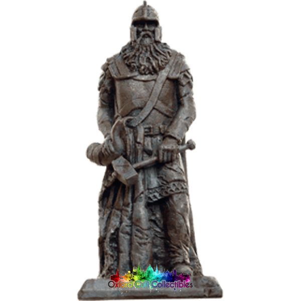 Lord Of The Rings Collectors Models Rohan King Statue 156 Hand Painted Figurine Hand