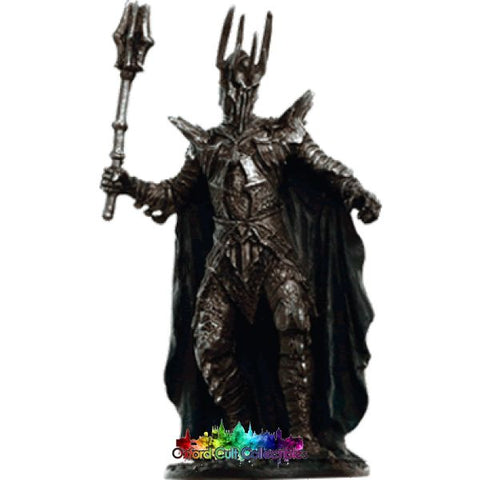Lord Of The Rings Collectors Models: Sauron At Dagorlad Plain 161 Hand Painted Figurine Hand