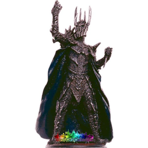 Lord Of The Rings Collectors Models Sauron At Sammath Naur 109 Hand Painted Figurine Hand
