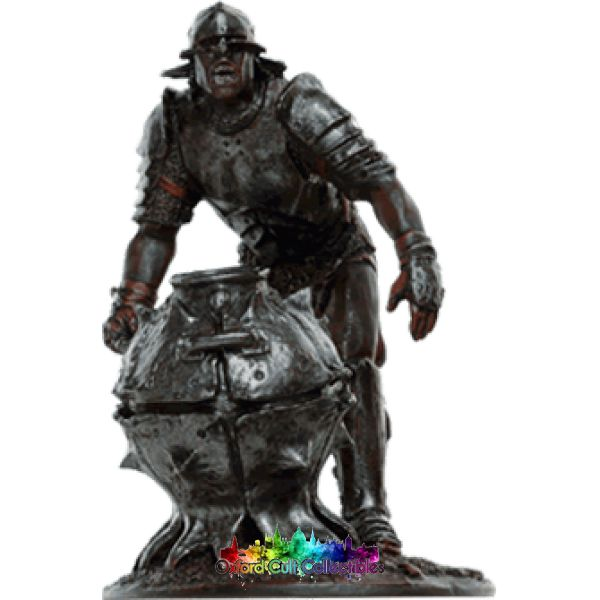 Lord Of The Rings Collectors Models Uruk Hai Bomber At Helms Deep 139 Hand Painted Figurine Hand