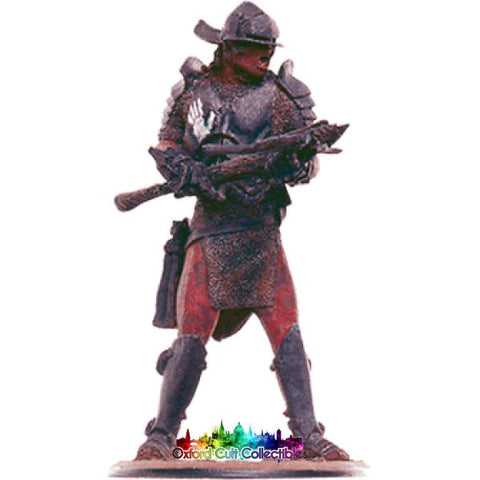 Lord Of The Rings Collectors Models Uruk-Hai Invader With Crossbow At Helms Deep 107 Hand Painted Figurine Hand