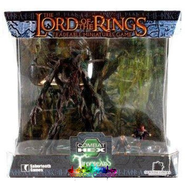 Lord Of The Rings Combat Hex Treebeard With Merry & Pippin Set