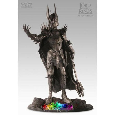 Lord Of The Rings The Dark Sauron Polystone Statue (Sideshow Weta)
