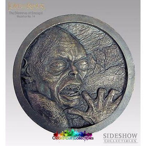 Lord Of The Rings The Dilemmas Sméagol Medallion No. 14 (Sideshow Weta)