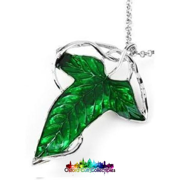 Lord Of The Rings Elven Leaf Lorien Necklace