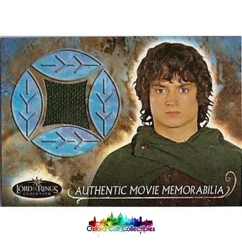 Lord Of The Rings Evolution Frodos Travel Cloak Authentic Costume Card