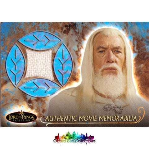Lord Of The Rings Evolution Gandalfs Cloak Authentic Costume Card