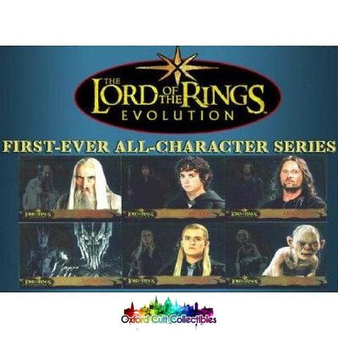 Lord Of The Rings Evolution Trading Card Set