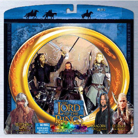Lord Of The Rings Freedom To Edoras Action Figure Set