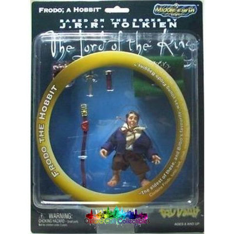 Lord Of The Rings Frodo Hobbit Action Figure (Middle-Earth Toys)