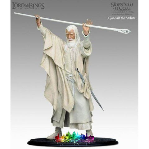 Lord Of The Rings Gandalf White Polystone Statue (Sideshow Weta)