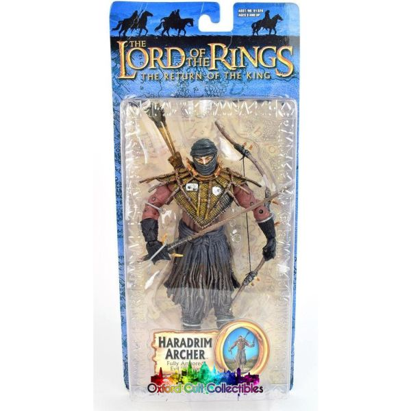 Lord Of The Rings Haradrim Archer Trilogy Action Figure