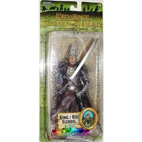 Lord Of The Rings King Elendil Trilogy Action Figure