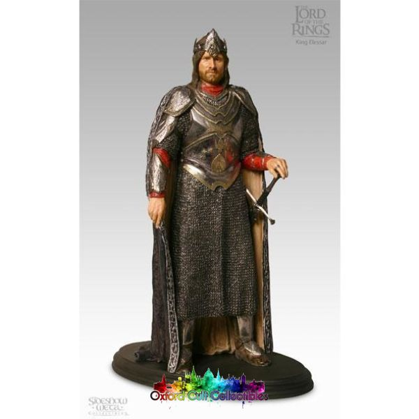 Lord Of The Rings King Elessar Polystone Statue (Sideshow Weta)