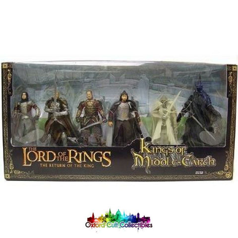 Lord Of The Rings The Kings Middle Earth Action Figure Set