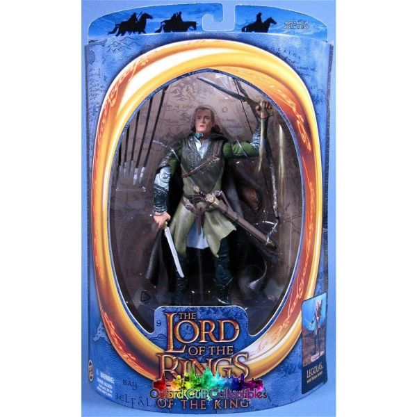 Lord Of The Rings Legolas In Rohan Armour Rotk Action Figure