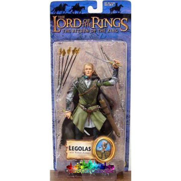 Lord Of The Rings Legolas In Rohan Armour Trilogy Action Figure