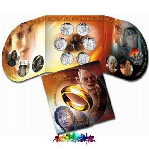 Lord Of The Rings Light Versus Dark Coin Set