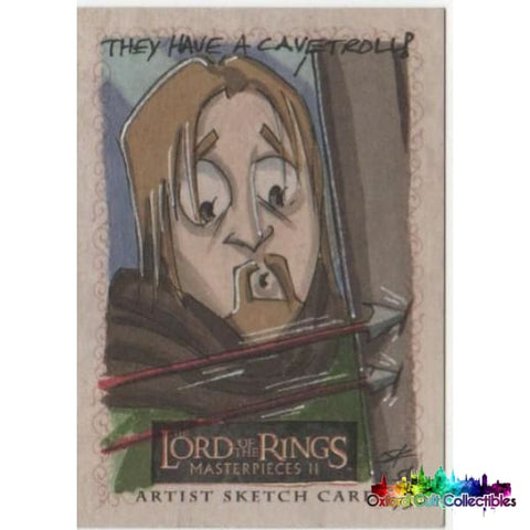 Lord Of The Rings Masterpieces 2 Artist Sketch Card