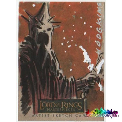 Lord Of The Rings Masterpieces Artist Sketch Card