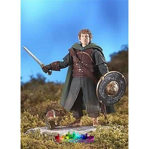 Lord Of The Rings Merry In Rohan Armour Rotk Action Figure