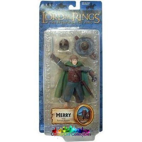 Lord Of The Rings Merry In Rohan Armour Trilogy Action Figure