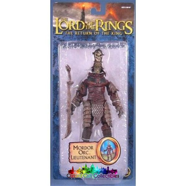 Lord Of The Rings Mordor Orc Lieutenant Trilogy Action Figure