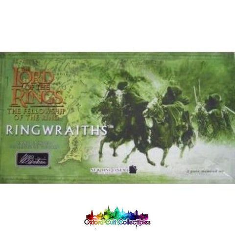 Lord Of The Rings Mounted Ringwraith Figurines (William Britain)