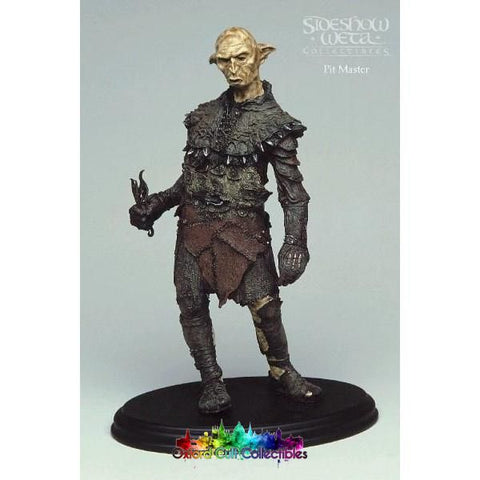 Lord Of The Rings Orc Pitmaster Polystone Statue (Sideshow Weta