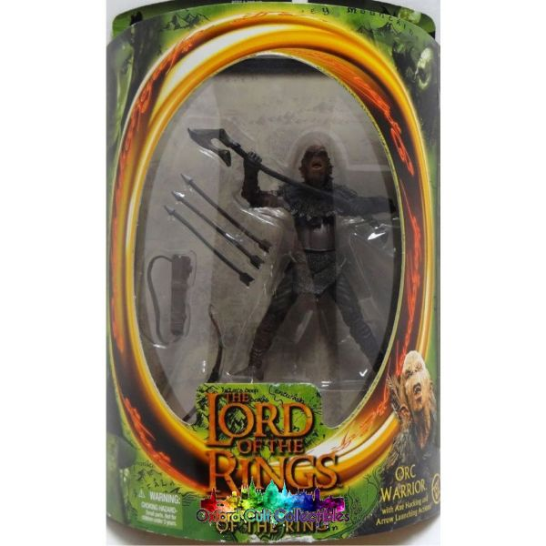 Lord Of The Rings Orc Warrior Fotr Action Figure